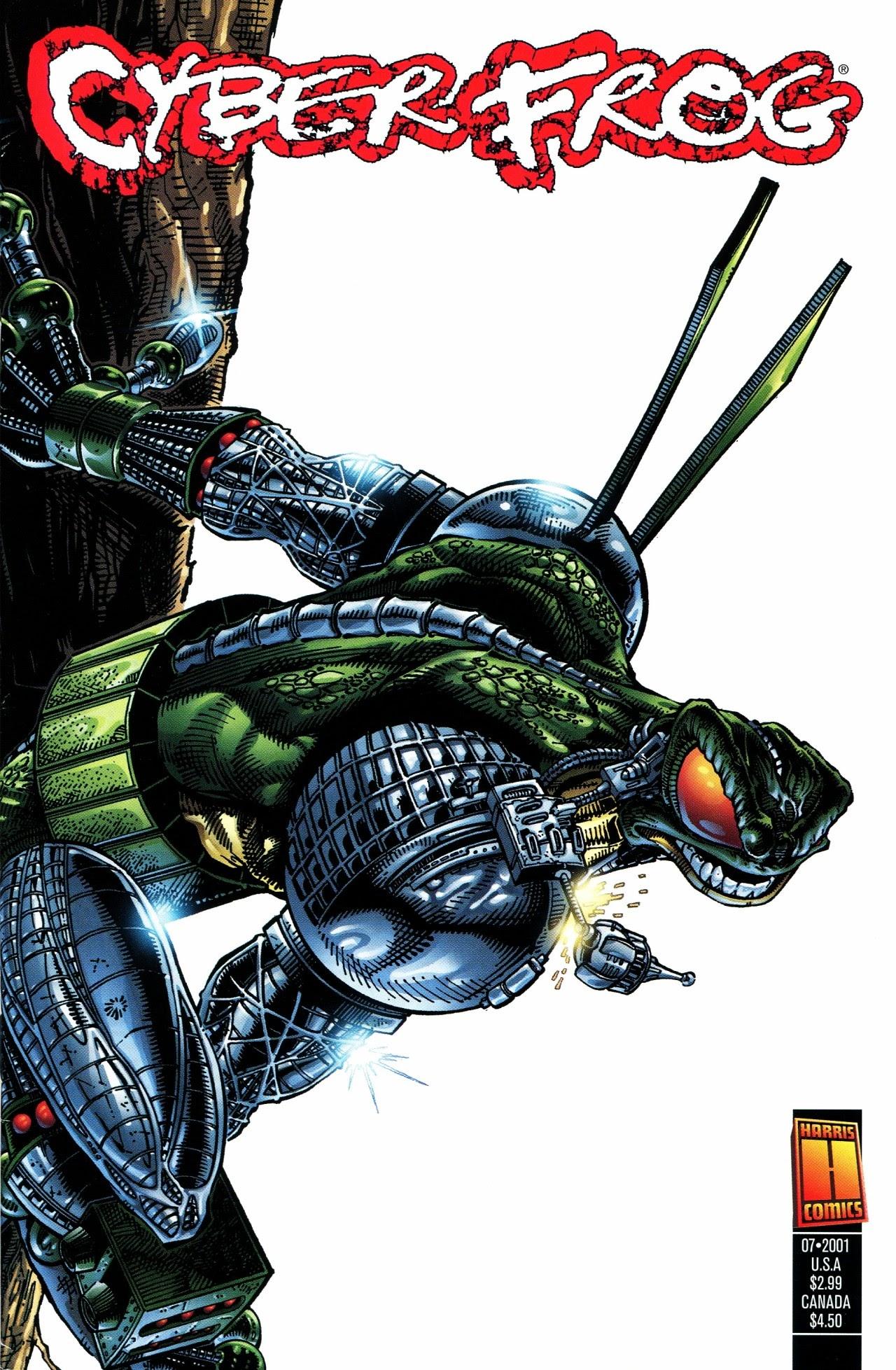 Cyberfrog: Amphibionix issue Full - Page 1