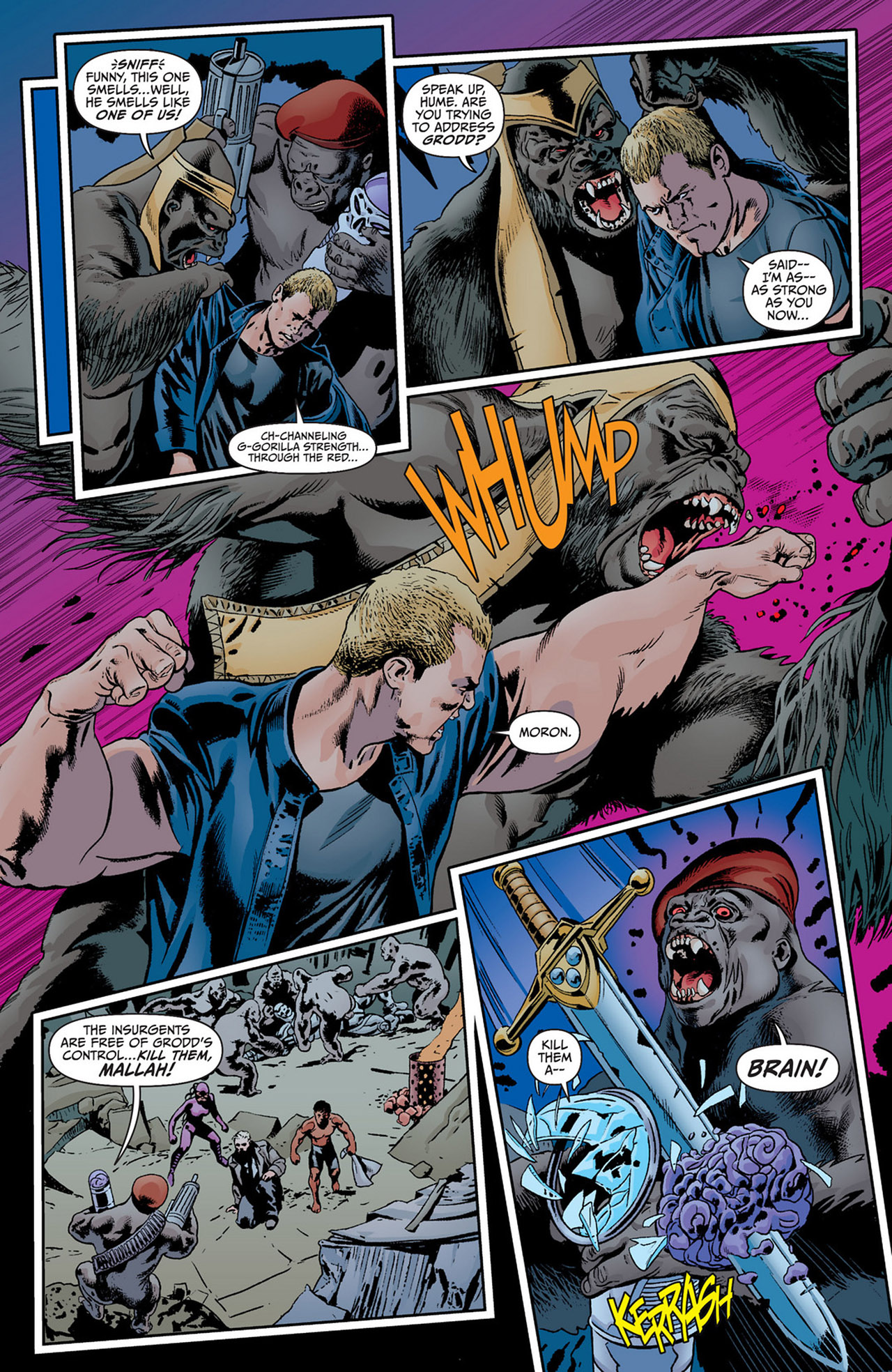 Read online Animal Man (2011) comic -  Issue #15 - 3