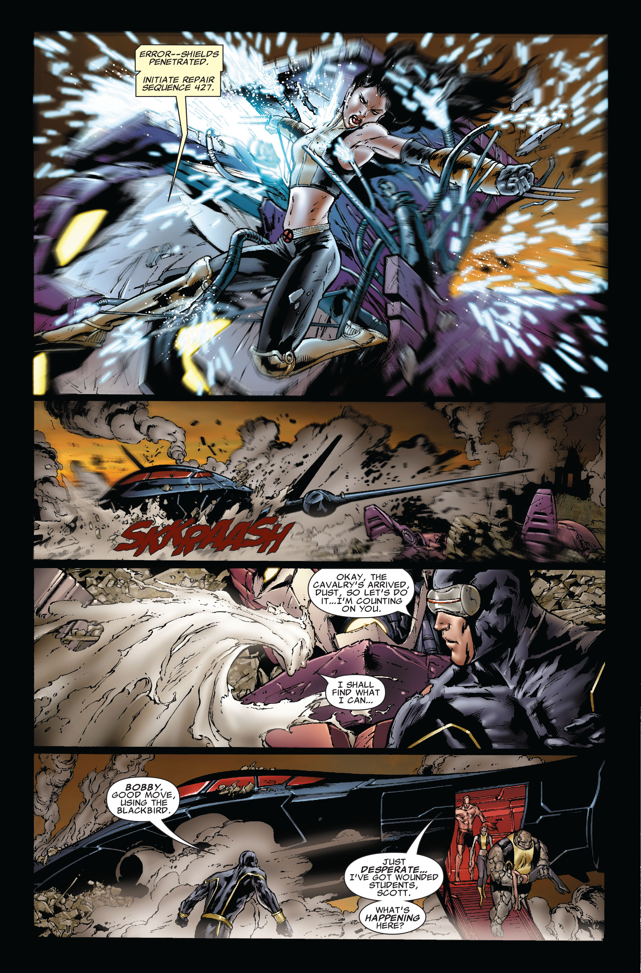 Read online Uncanny X-Men (1963) comic -  Issue #493 - 14