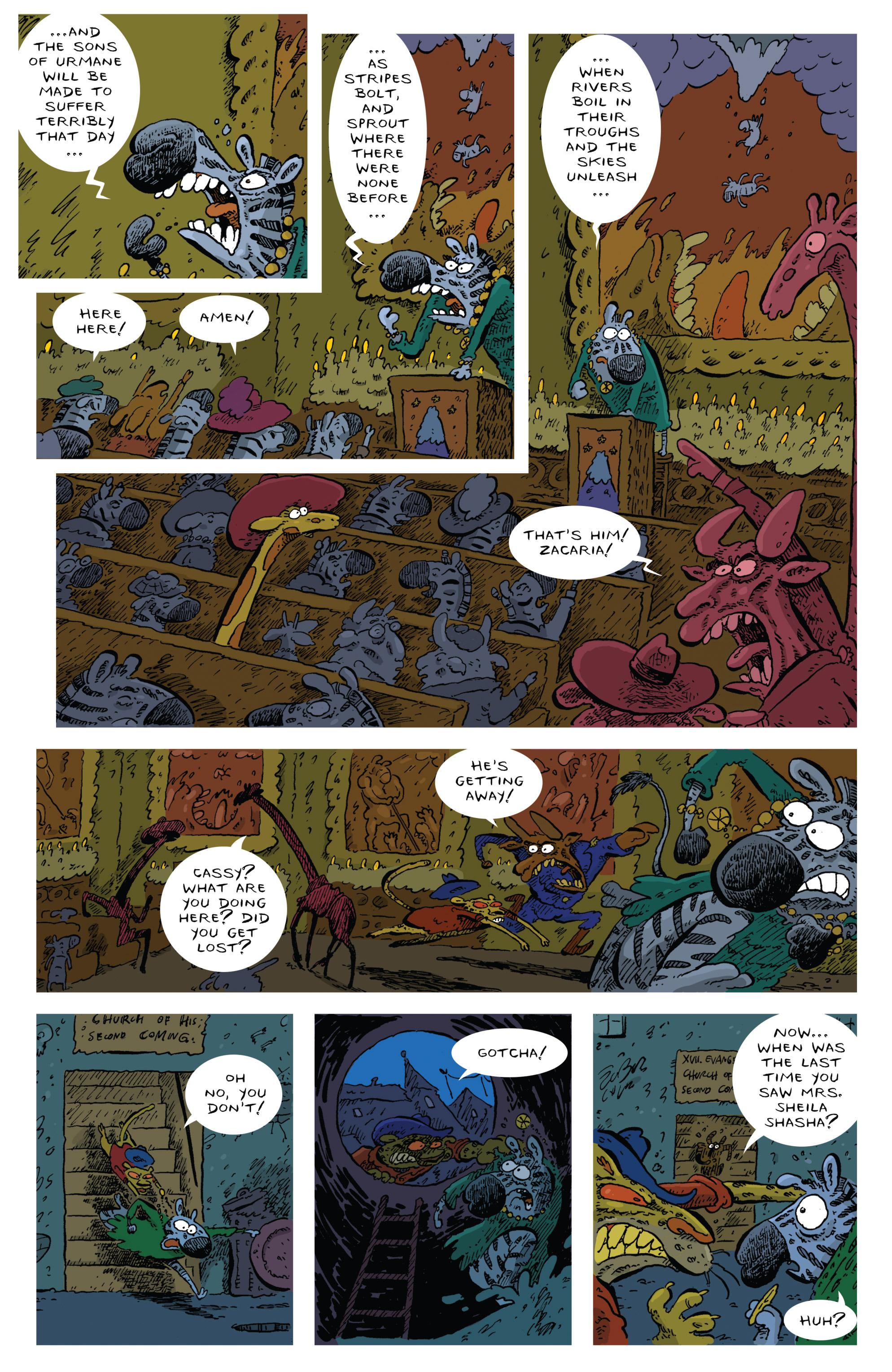Read online Animal Noir comic -  Issue #4 - 12