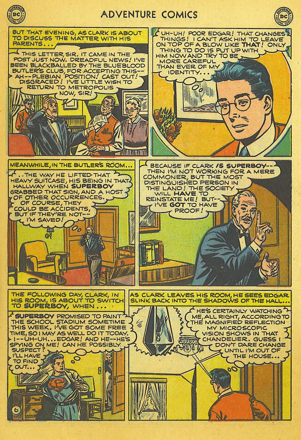 Read online Adventure Comics (1938) comic -  Issue #169 - 7