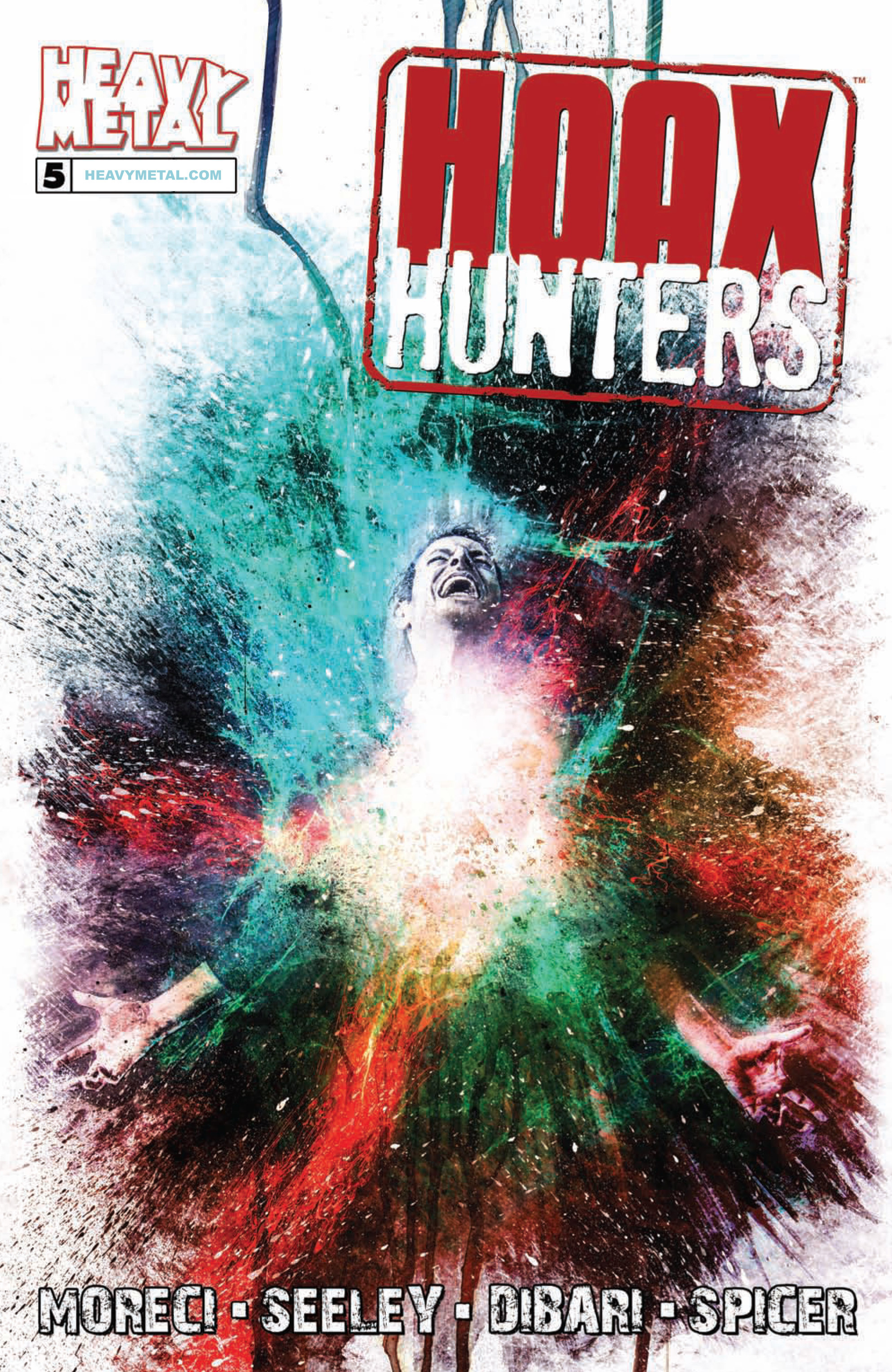 Read online Hoax Hunters (2015) comic -  Issue #5 - 1
