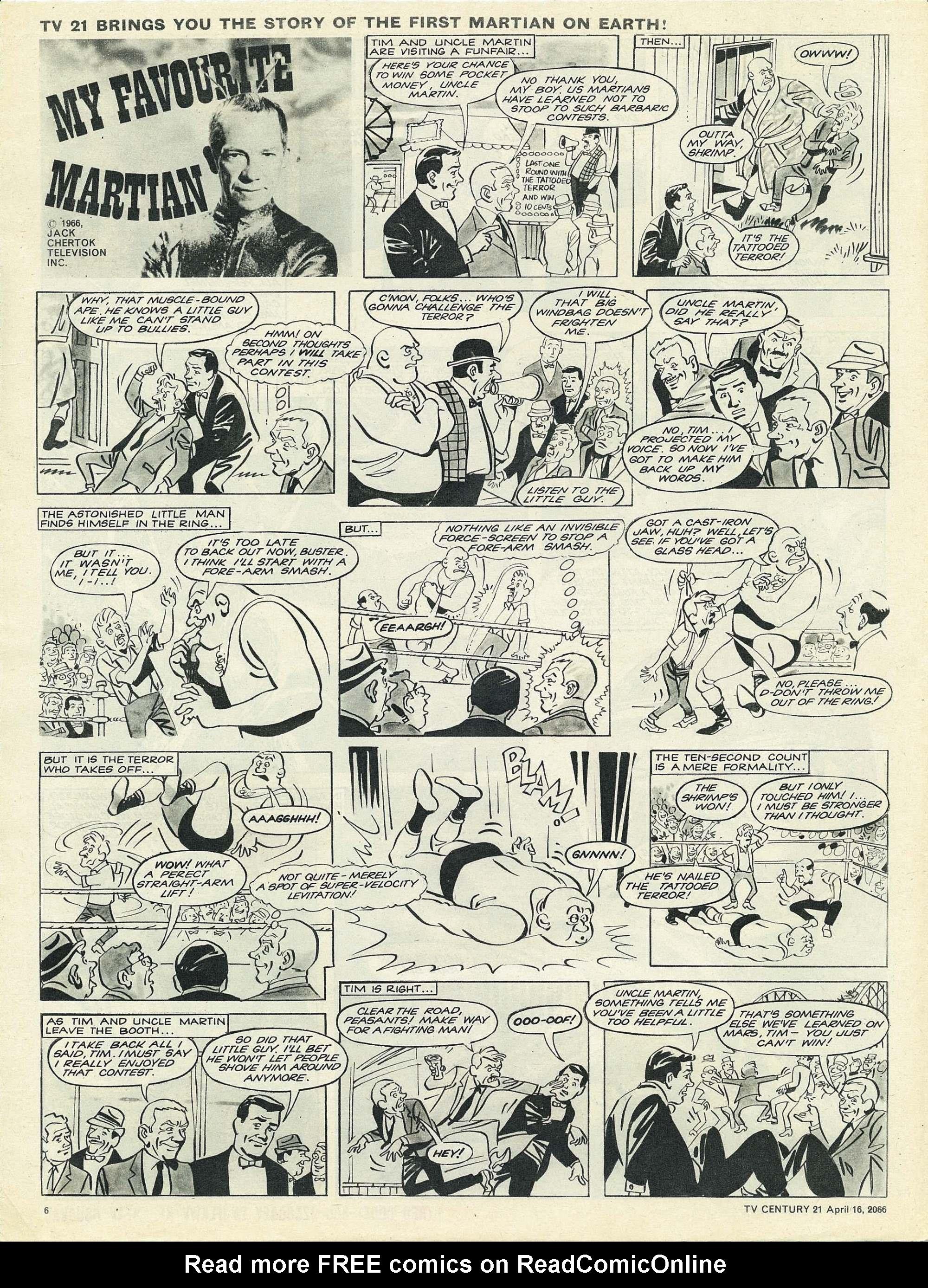 Read online TV Century 21 (TV 21) comic -  Issue #65 - 6
