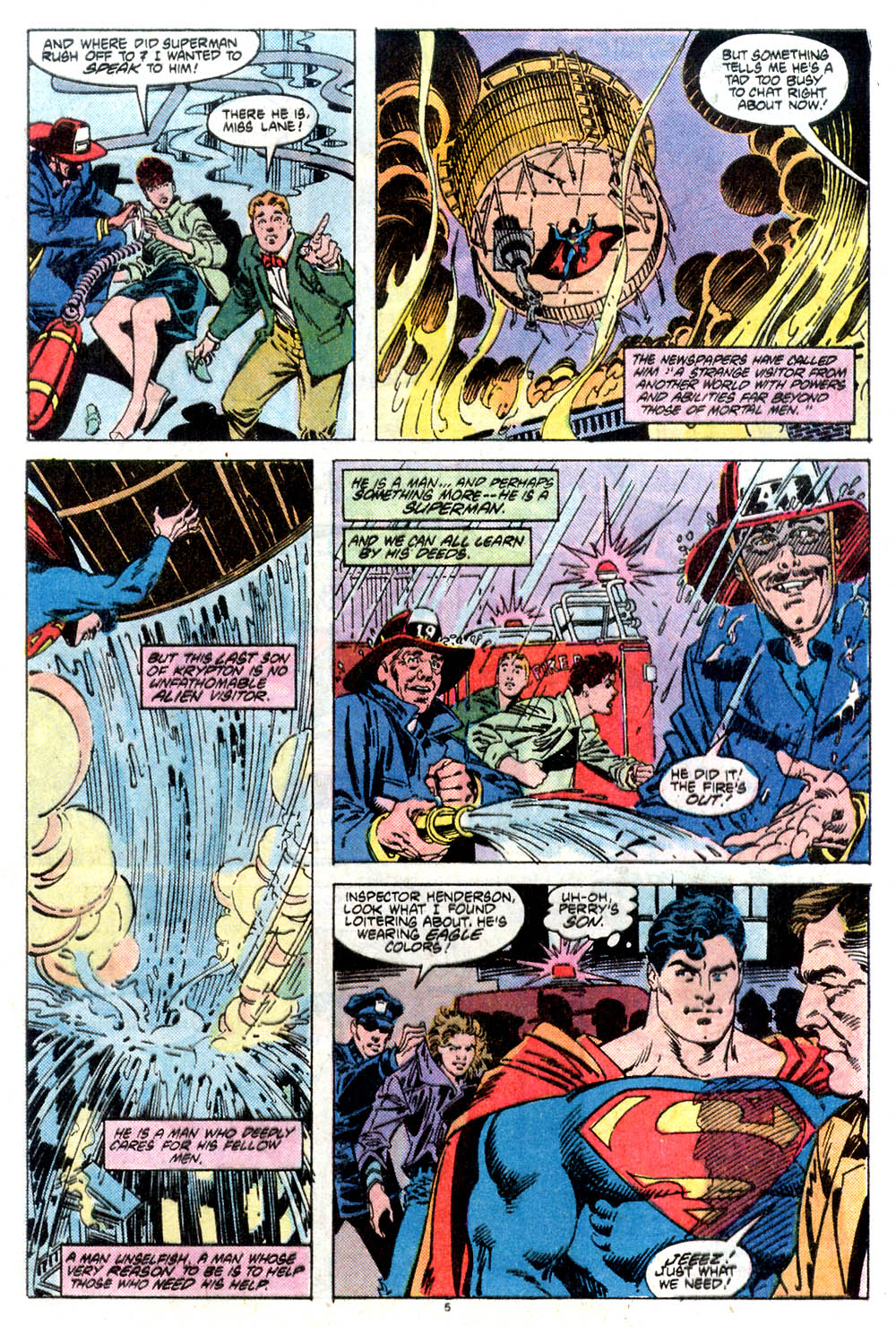 Read online Adventures of Superman (1987) comic -  Issue #432 - 6