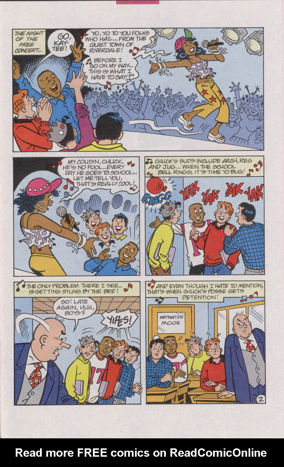 Read online Archie (1960) comic -  Issue #542 - 21