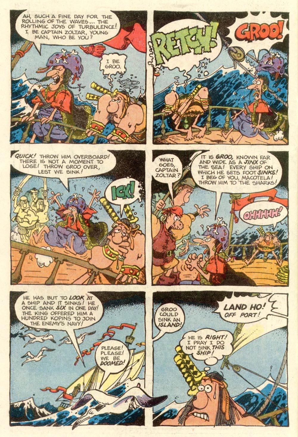 Read online Sergio Aragonés Groo the Wanderer comic -  Issue #5 - 6