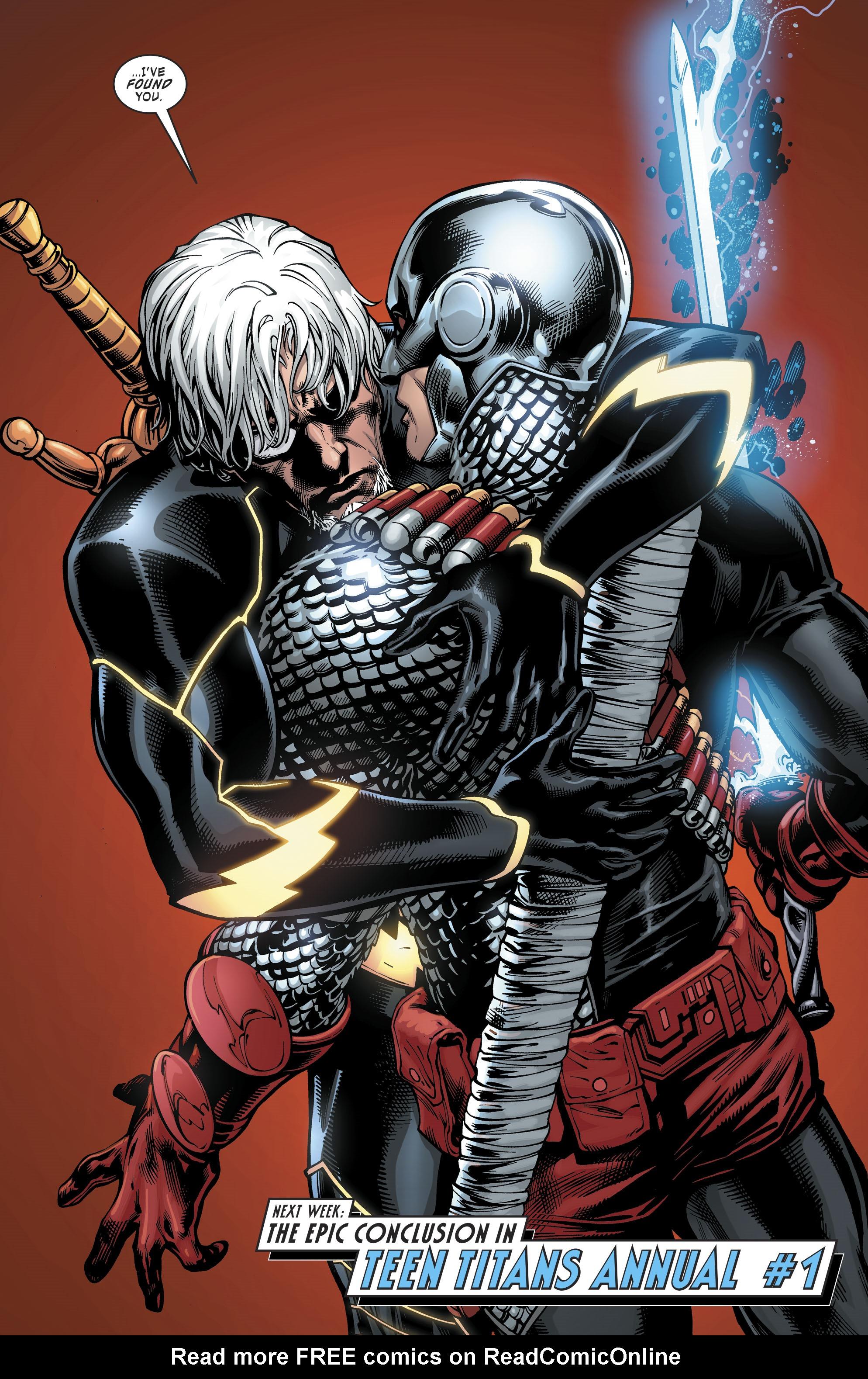 Read online Deathstroke (2016) comic -  Issue #19 - 23