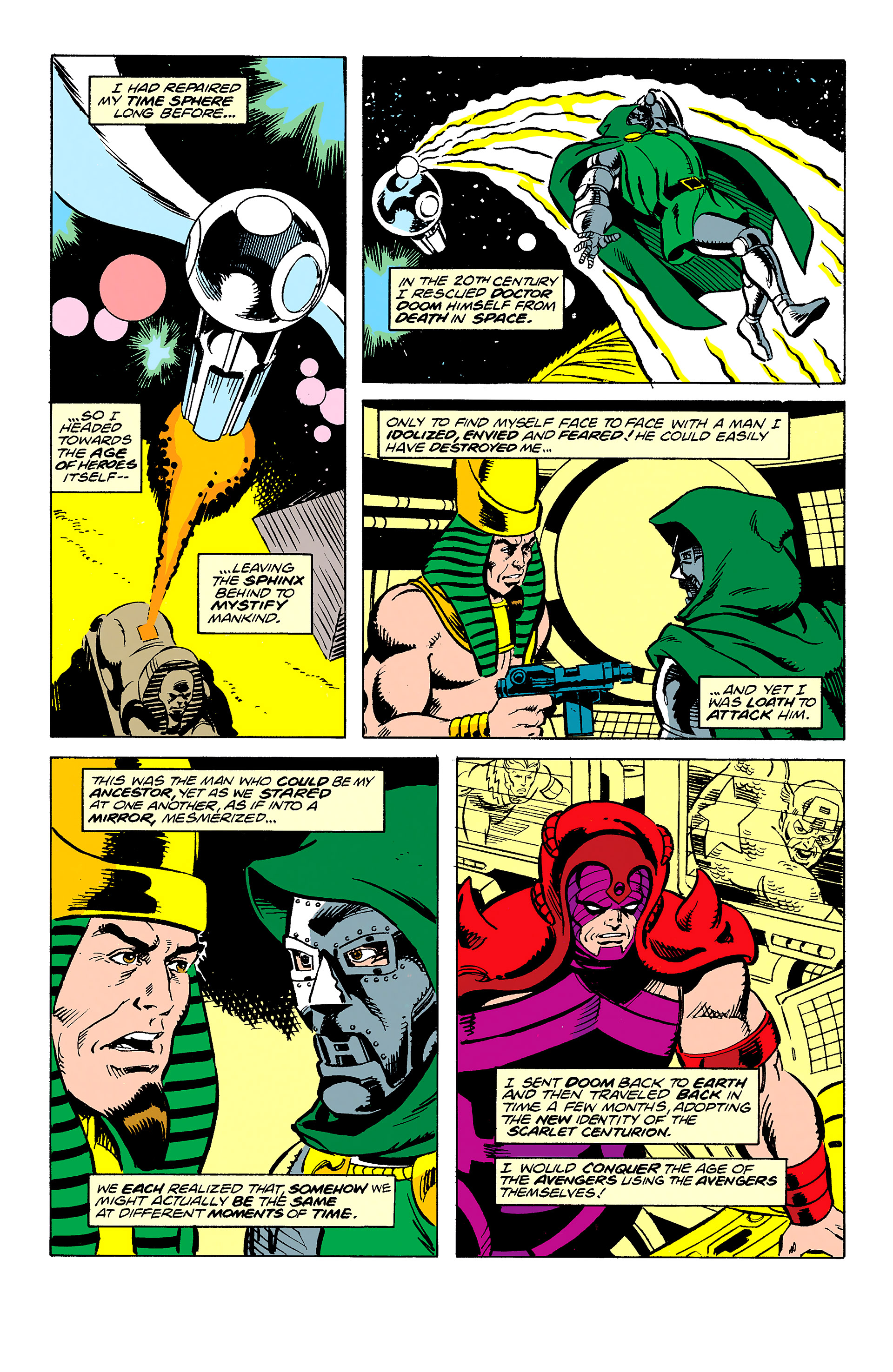 Read online Captain America (1968) comic -  Issue # _Annual 11 - 51