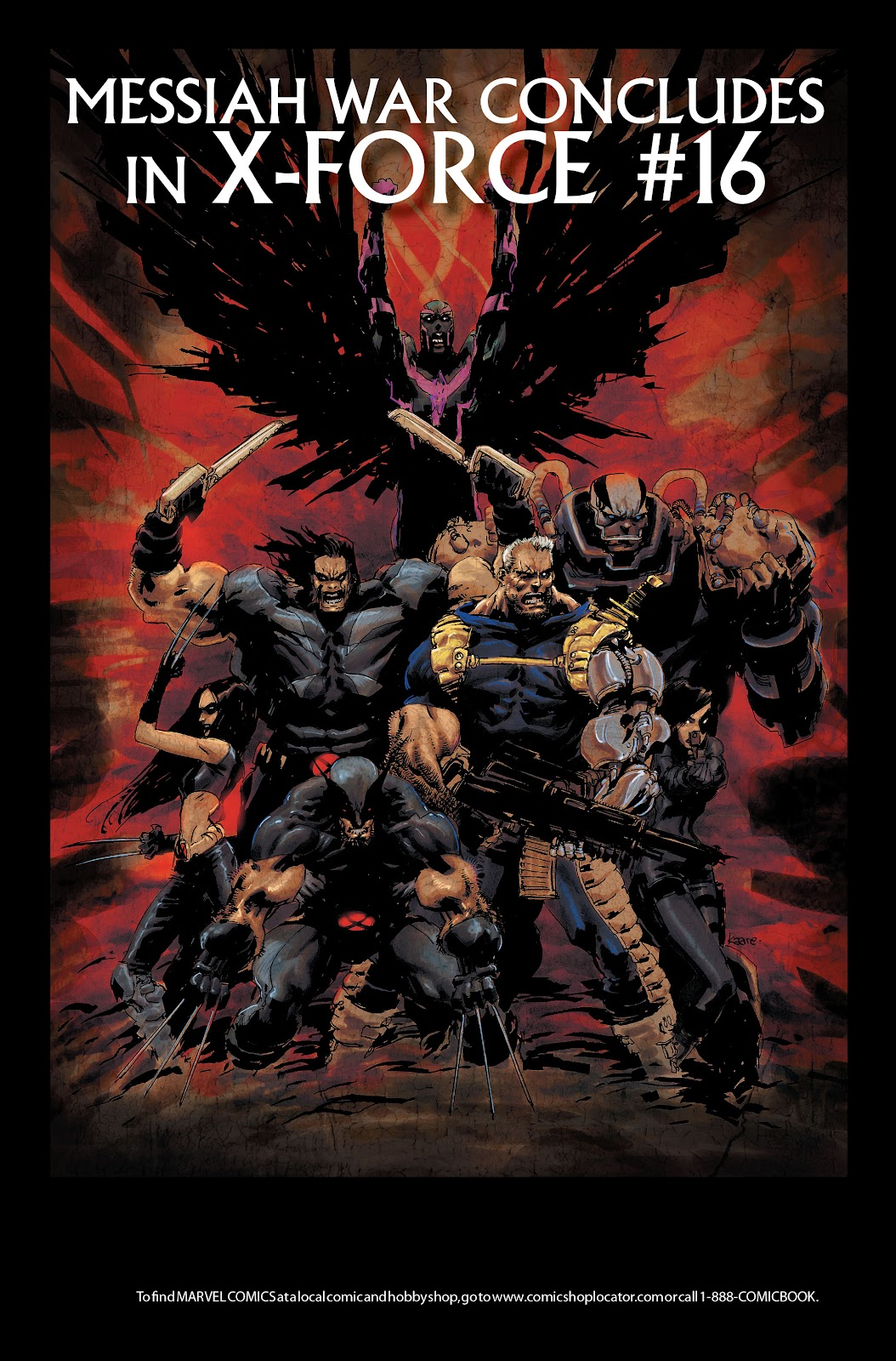 Read online X-Force/Cable: Messiah War comic -  Issue # _TPB (Part 2) - 117