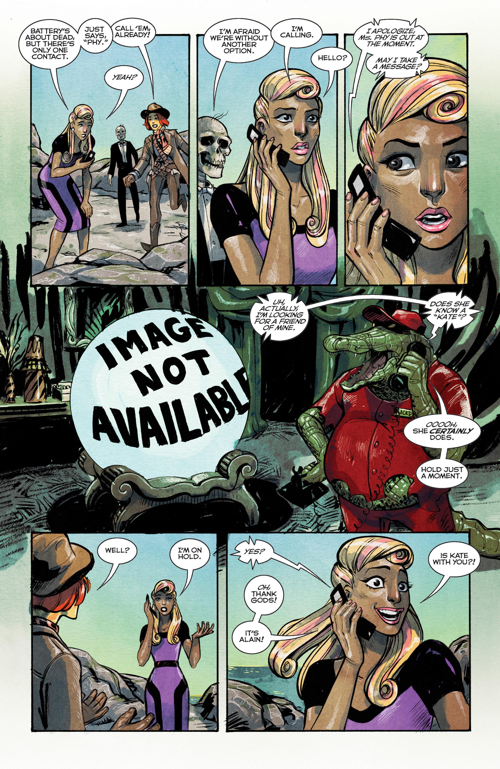 Read online Shutter comic -  Issue #15 - 14