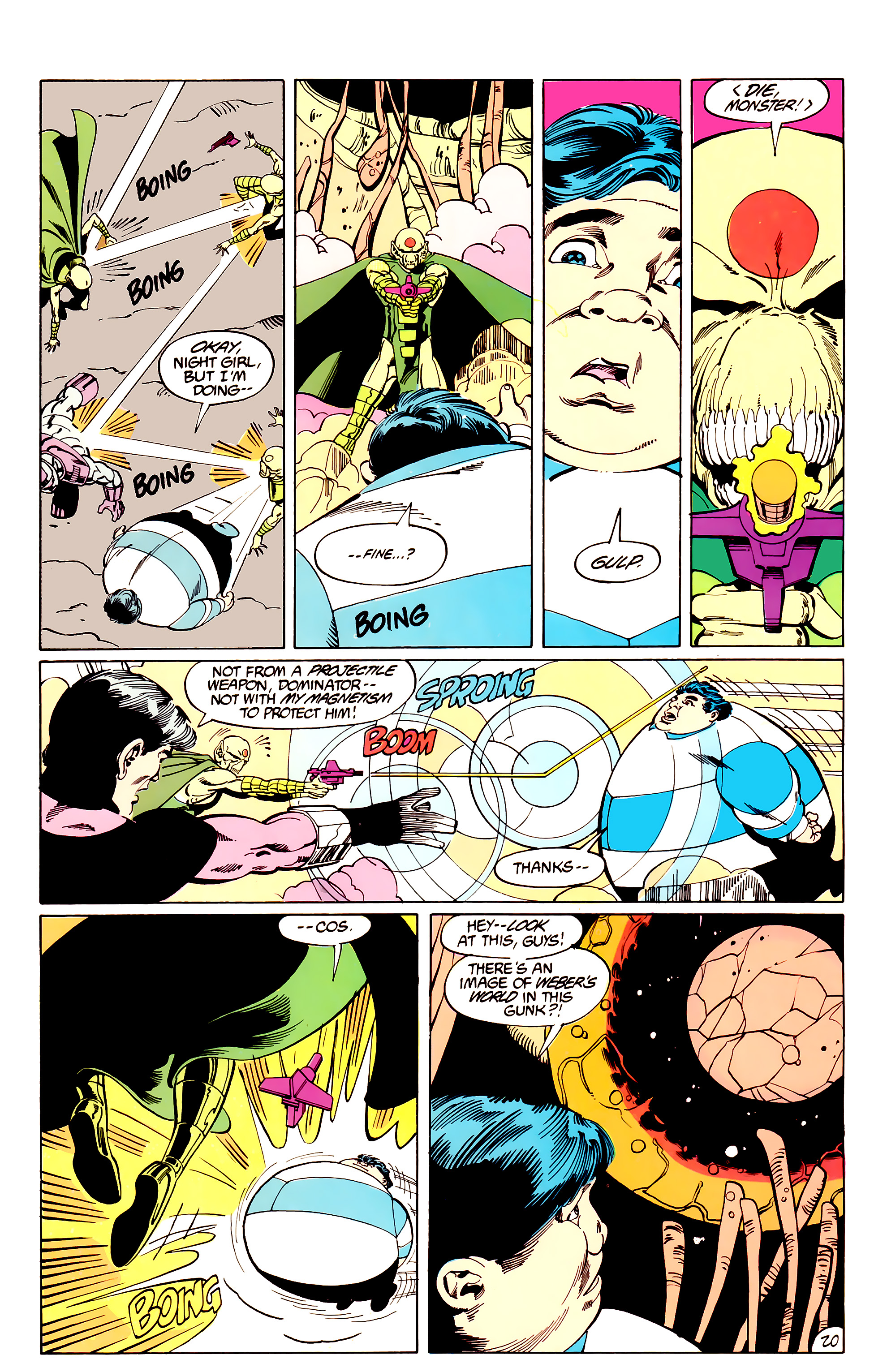 Legion of Super-Heroes (1984) _Annual_3 Page 20