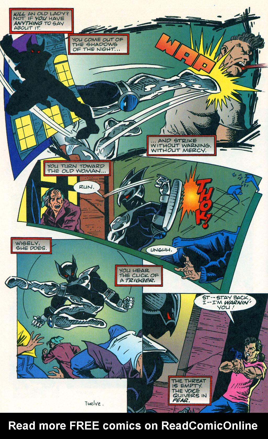 Read online ShadowHawk comic -  Issue #1 - 16