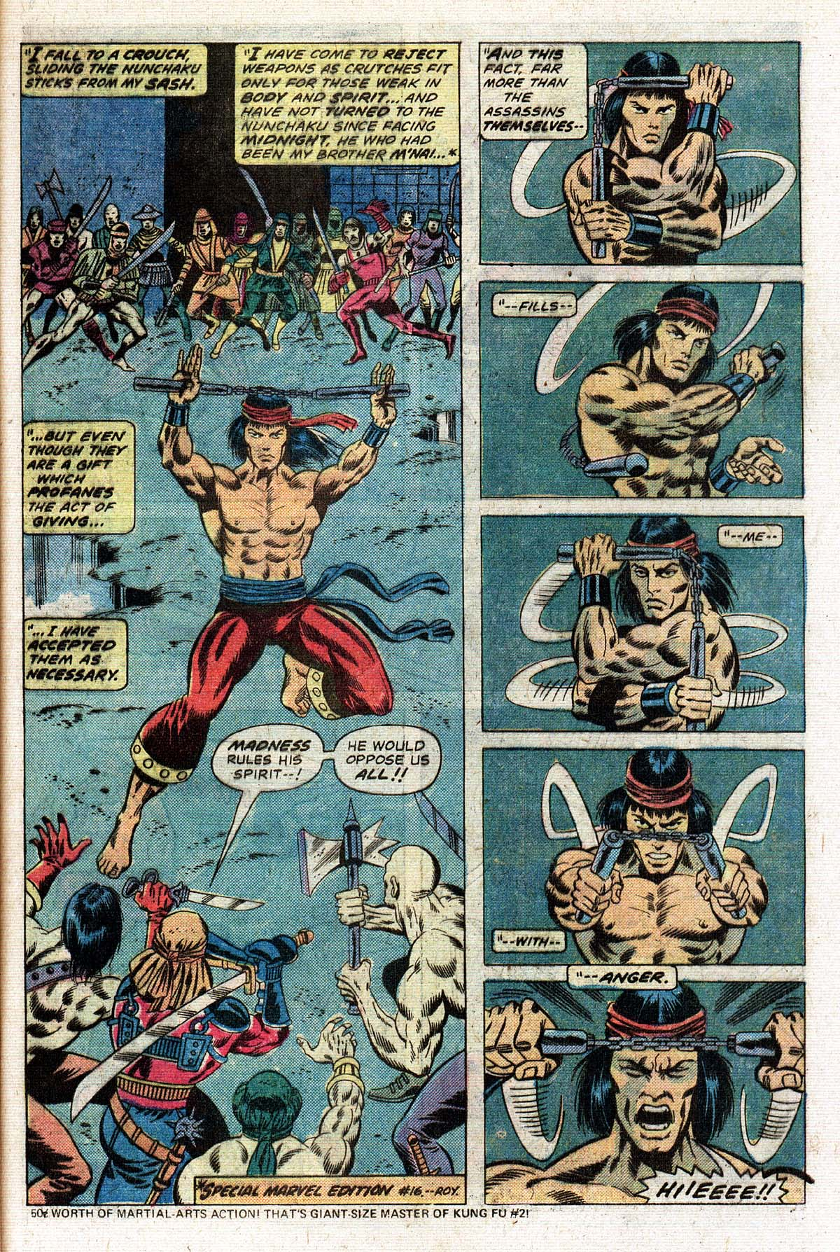 Read online Giant-Size Master of Kung Fu comic -  Issue #2 - 26