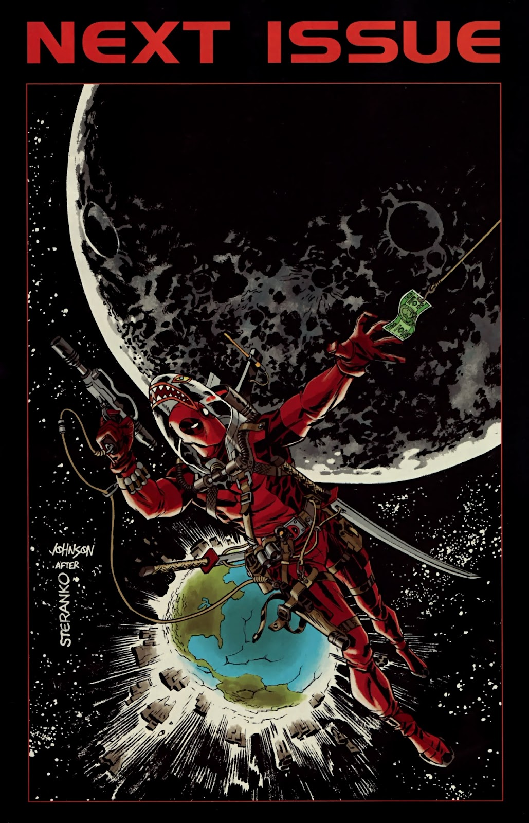 Read online Deadpool (2008) comic -  Issue #32 - 25