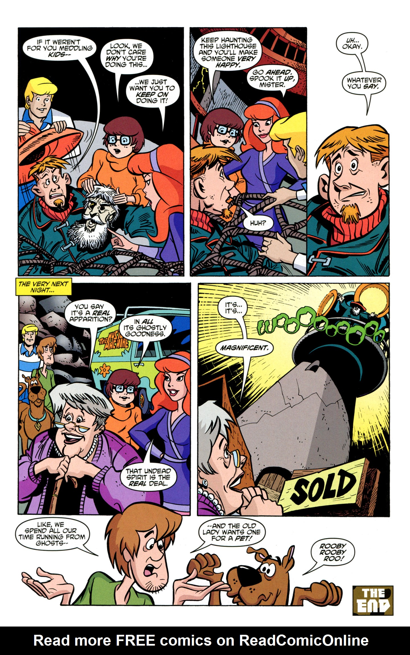 Read online Scooby-Doo: Where Are You? comic -  Issue #19 - 27