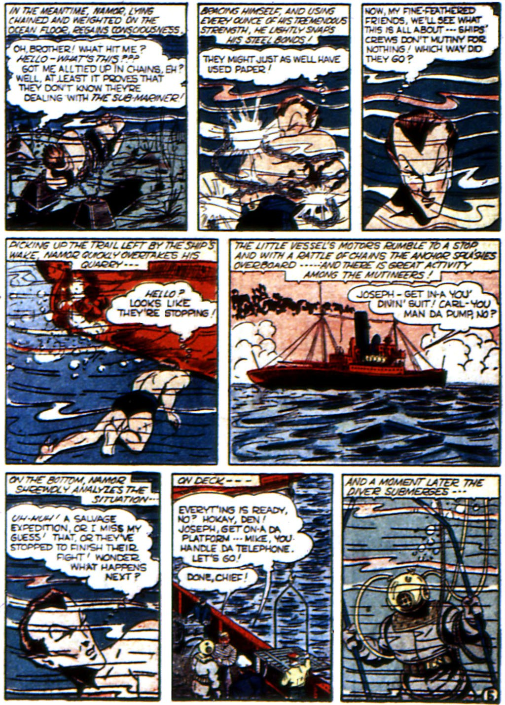 Read online All-Winners Comics comic -  Issue #3 - 47