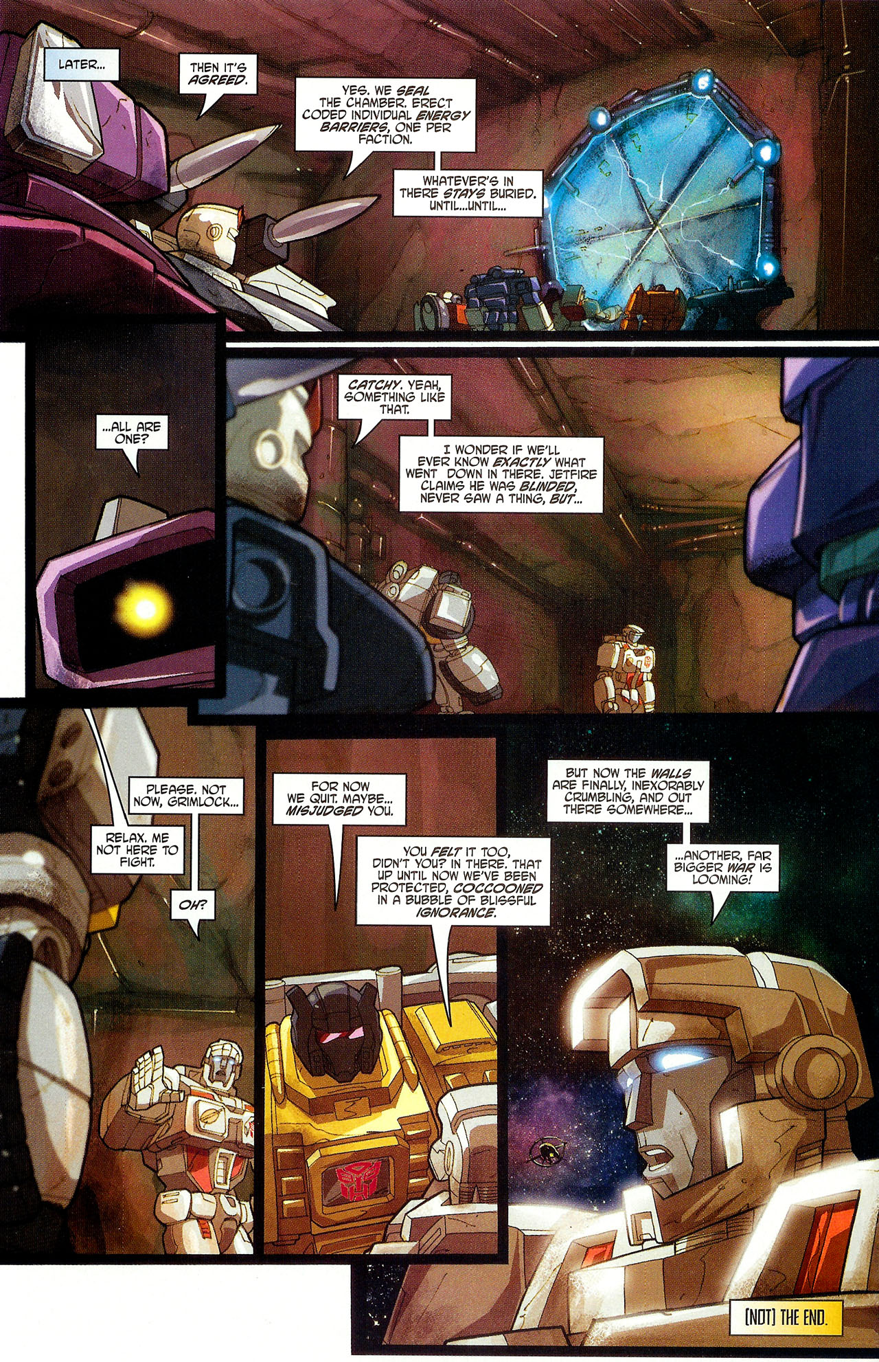 "Read online Transformers War Within: ""The Dark Ages"" comic -  Issue #6 - 22"