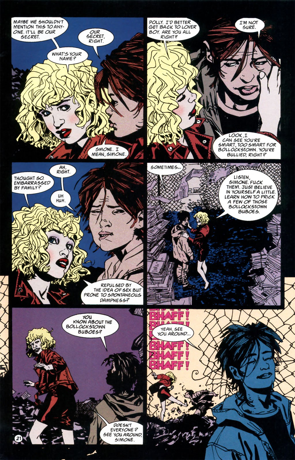 Read online Girl comic -  Issue #1 - 24