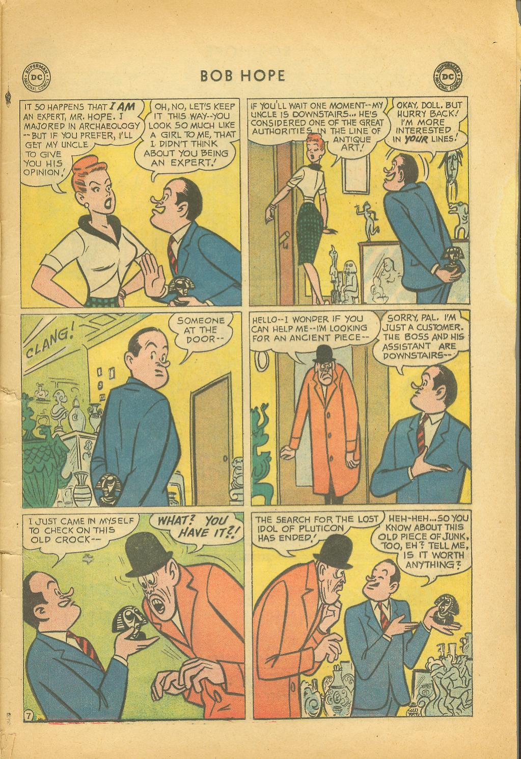 The Adventures of Bob Hope issue 64 - Page 9