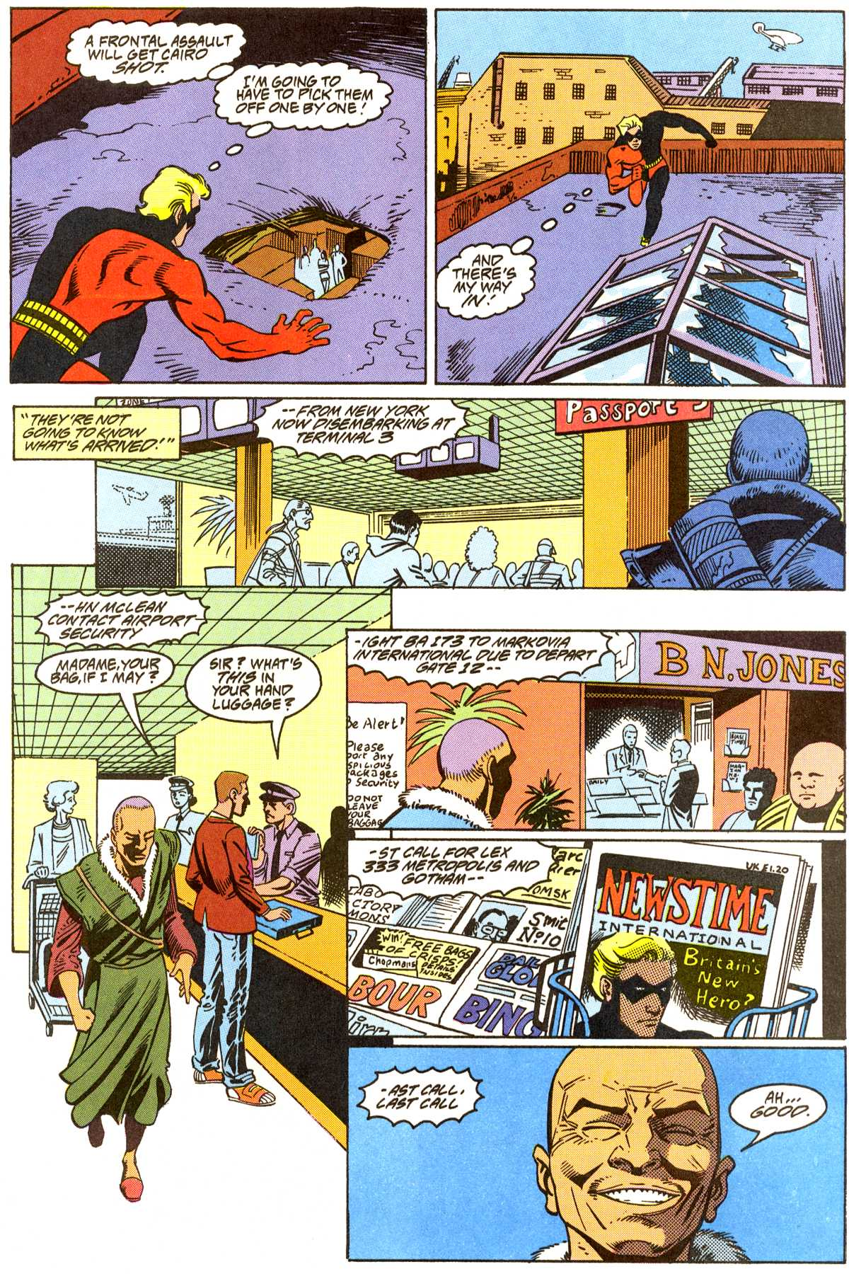 Read online Peter Cannon--Thunderbolt (1992) comic -  Issue #8 - 18