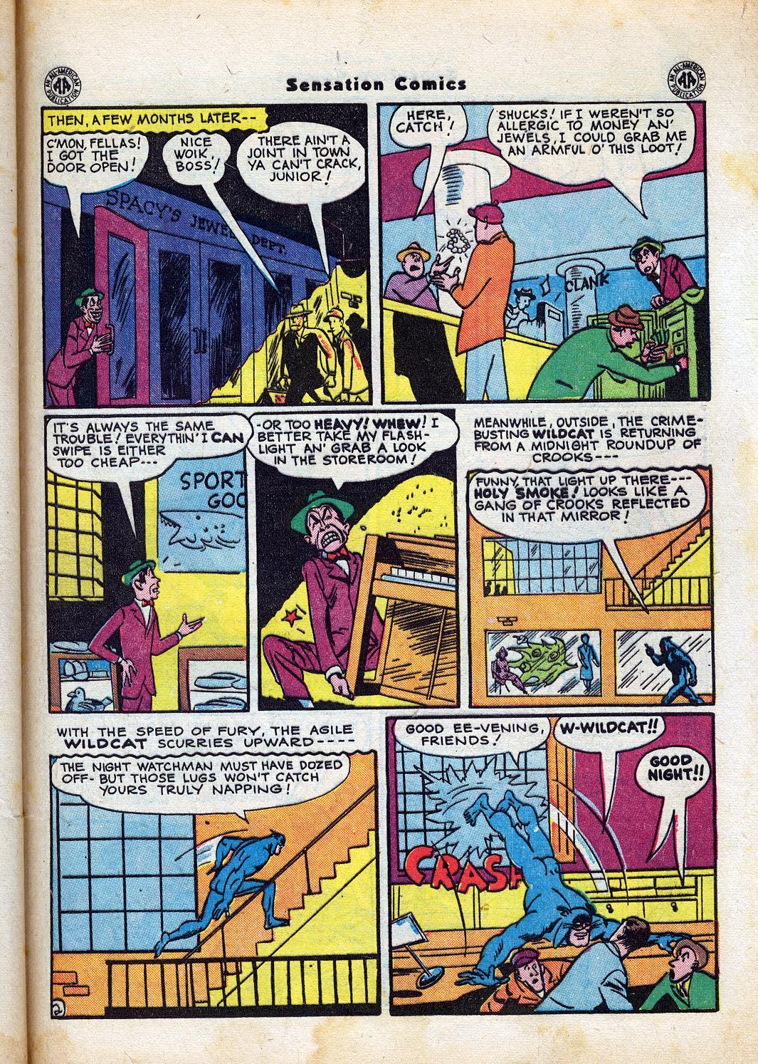 Read online Sensation (Mystery) Comics comic -  Issue #47 - 43