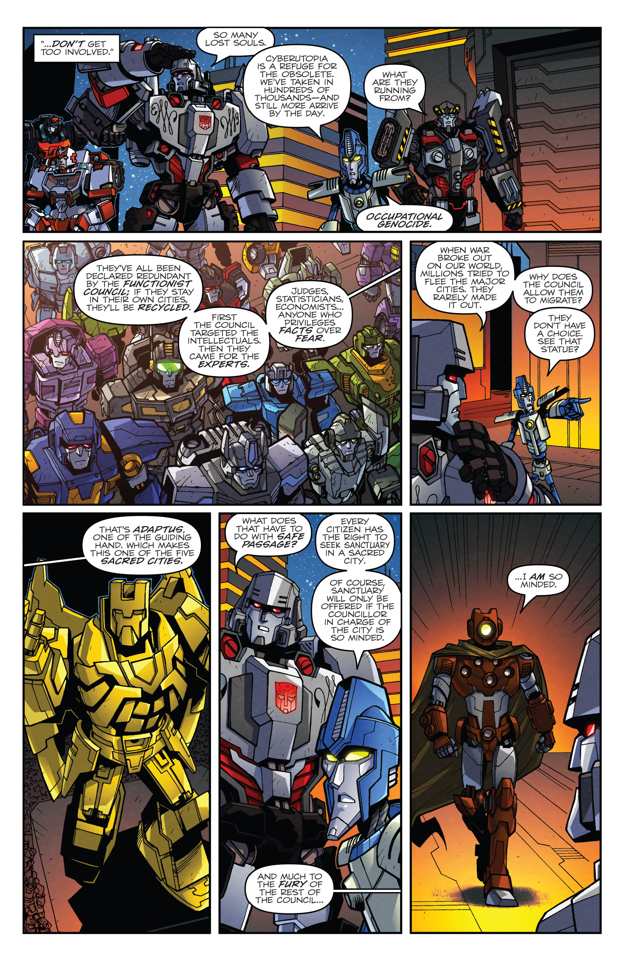 Read online Transformers: Lost Light comic -  Issue #3 - 7