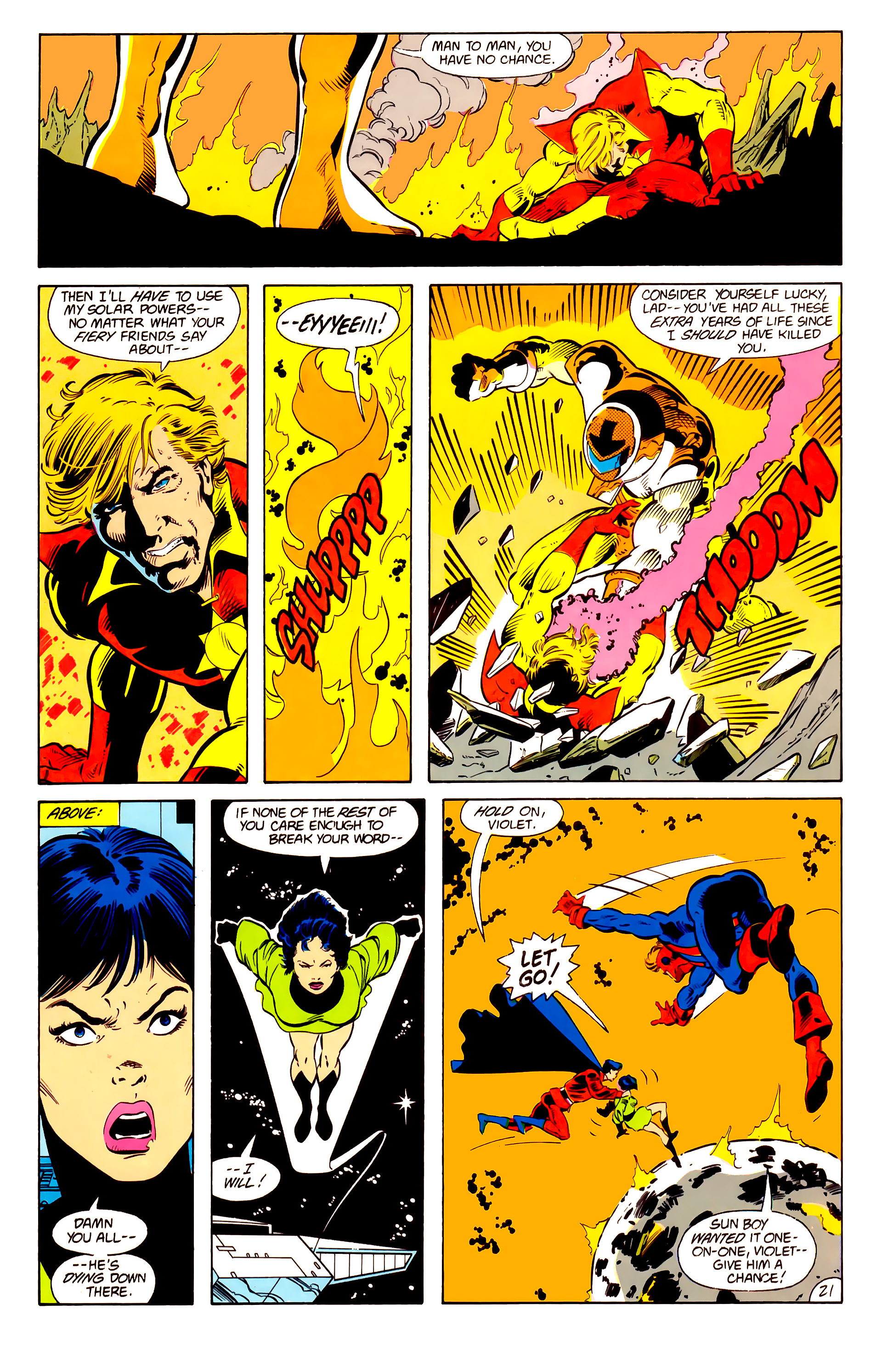 Legion of Super-Heroes (1984) 15 Page 22