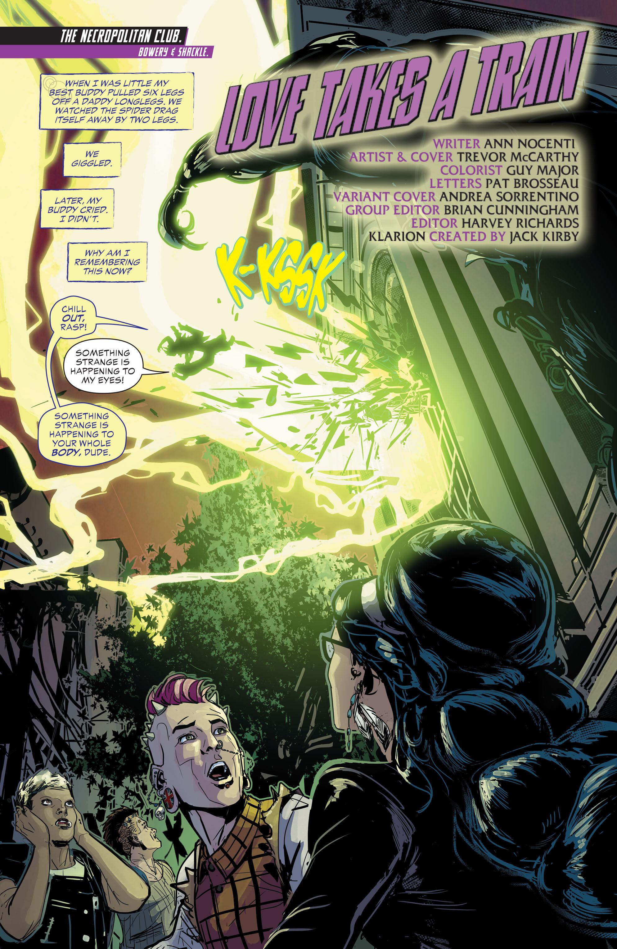 Read online Klarion comic -  Issue #2 - 2