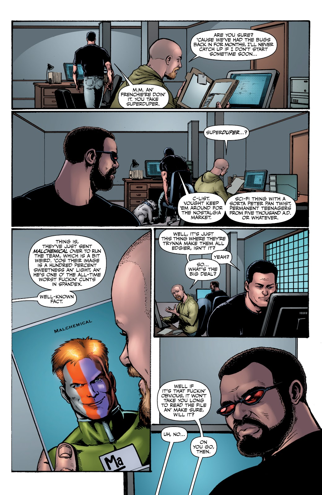 Read online The Boys Omnibus comic -  Issue # TPB 4 (Part 1) - 41