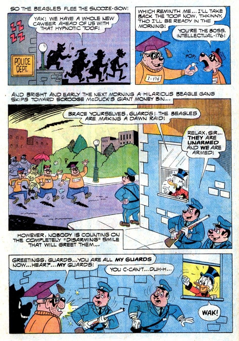 Walt Disney THE BEAGLE BOYS issue 15 - Page 36