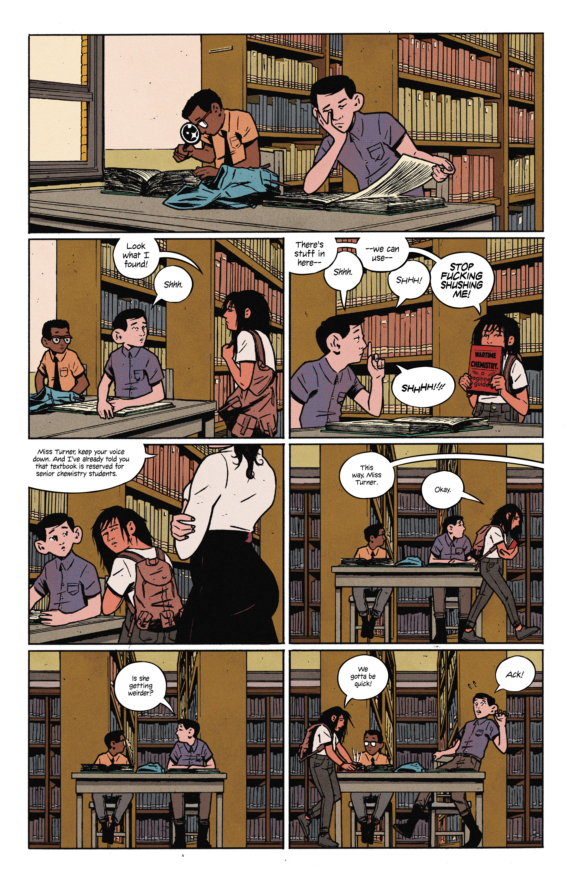 Read online 4 Kids Walk Into a Bank comic -  Issue #3 - 9