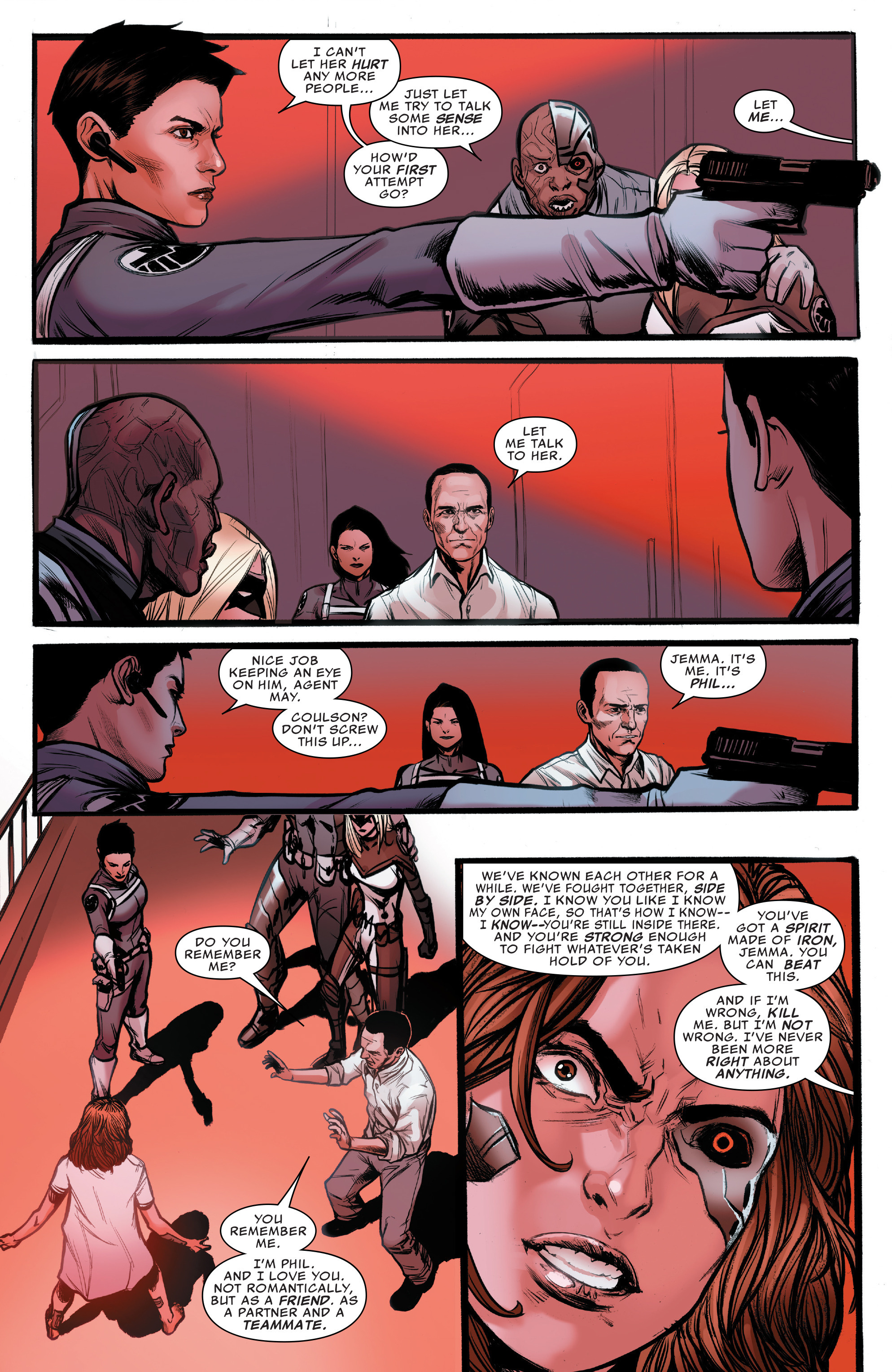 Read online Agents of S.H.I.E.L.D. comic -  Issue #10 - 14