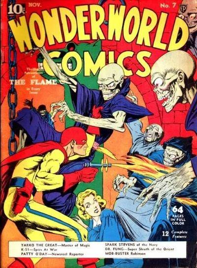 Wonderworld Comics issue 7 - Page 1