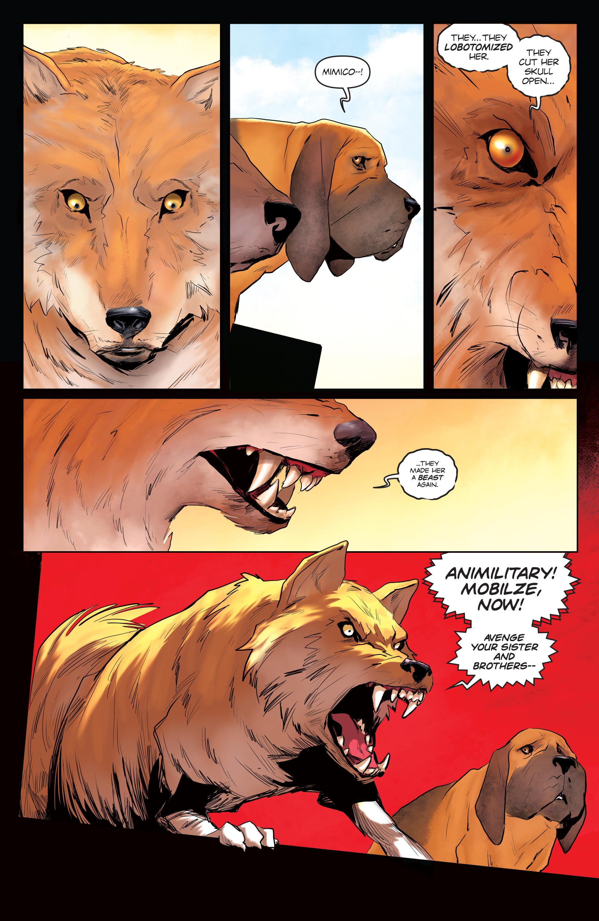 Read online Animosity comic -  Issue #3 - 21