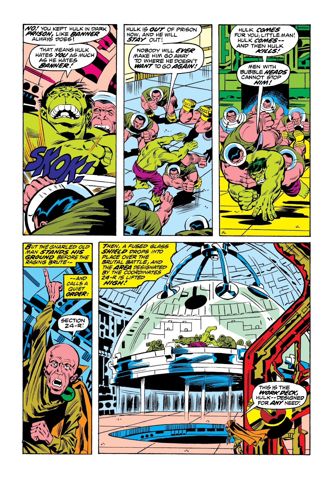 Read online Marvel Masterworks: The Incredible Hulk comic -  Issue # TPB 9 (Part 2) - 74