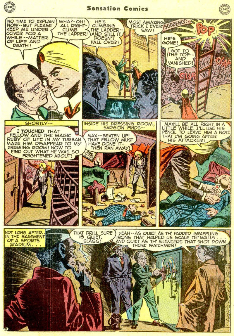 Read online Sensation (Mystery) Comics comic -  Issue #77 - 26