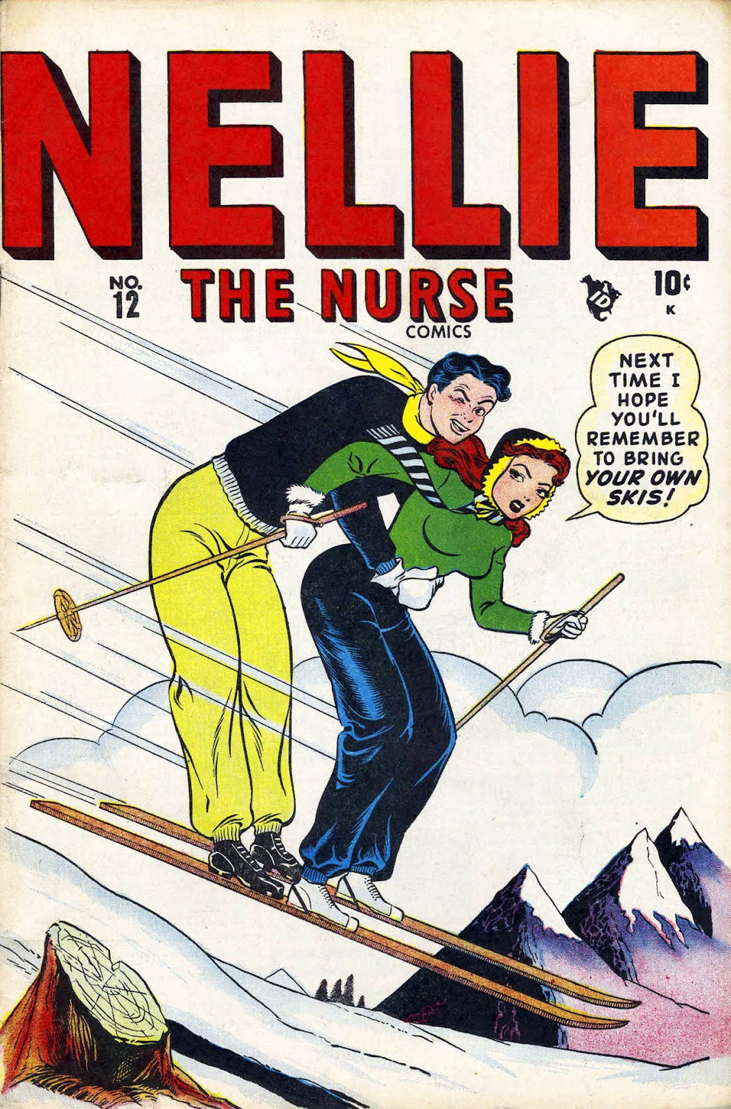 Read online Nellie The Nurse (1945) comic -  Issue #12 - 1