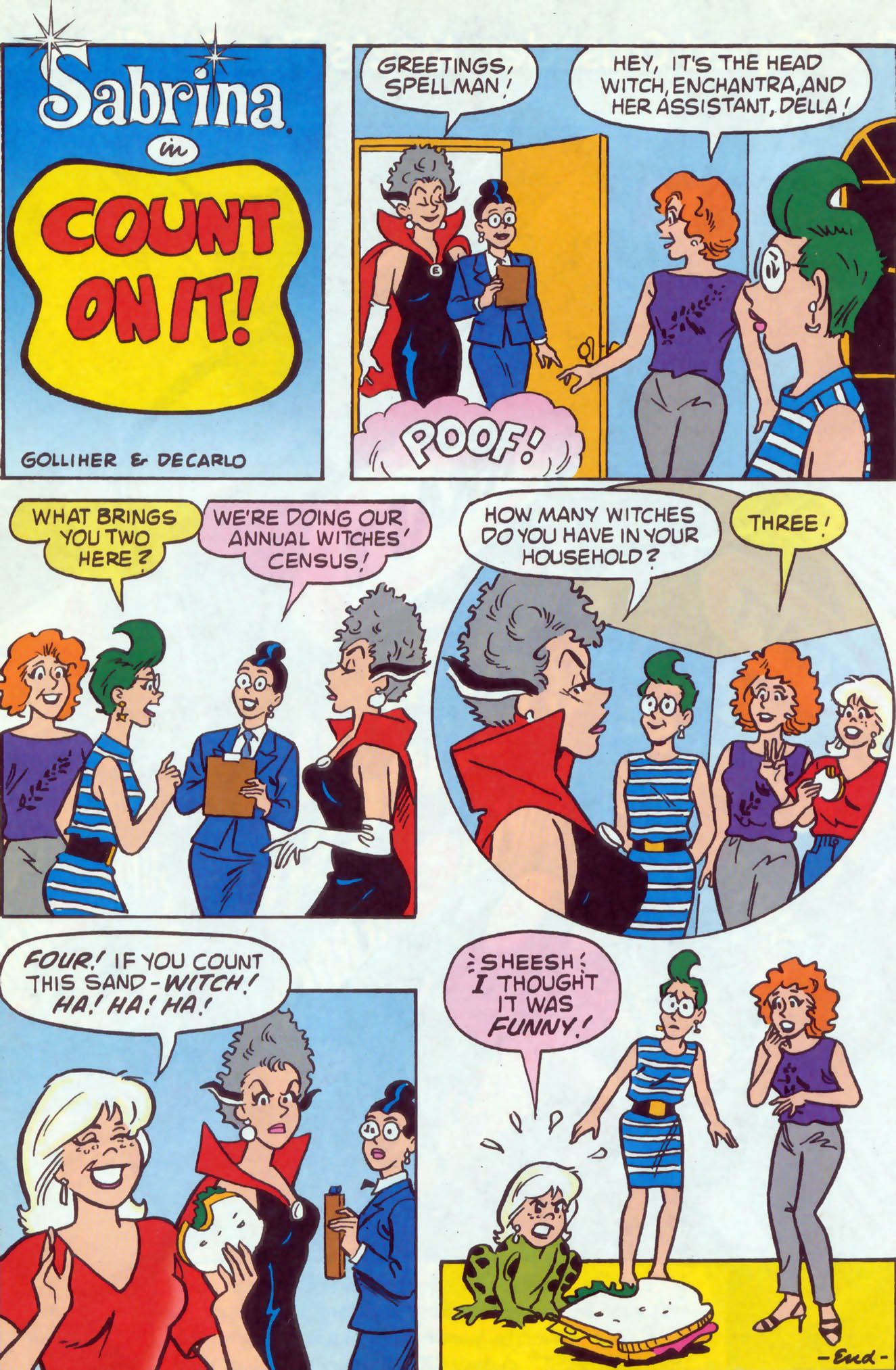 Read online Archie (1960) comic -  Issue #473 - 8