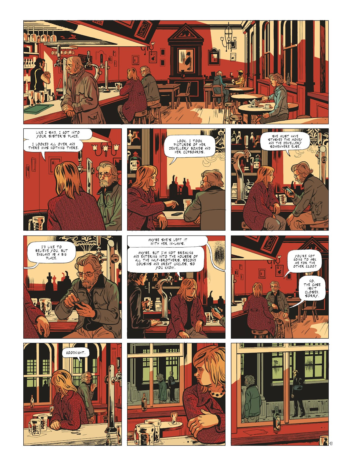 Read online Maggy Garrisson comic -  Issue #2 - 21