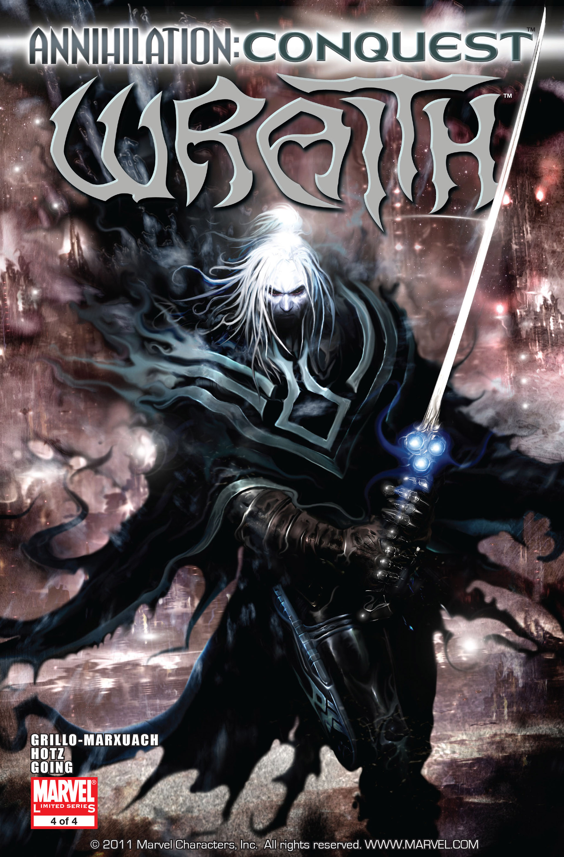Read online Annihilation: Conquest - Wraith comic -  Issue #4 - 1