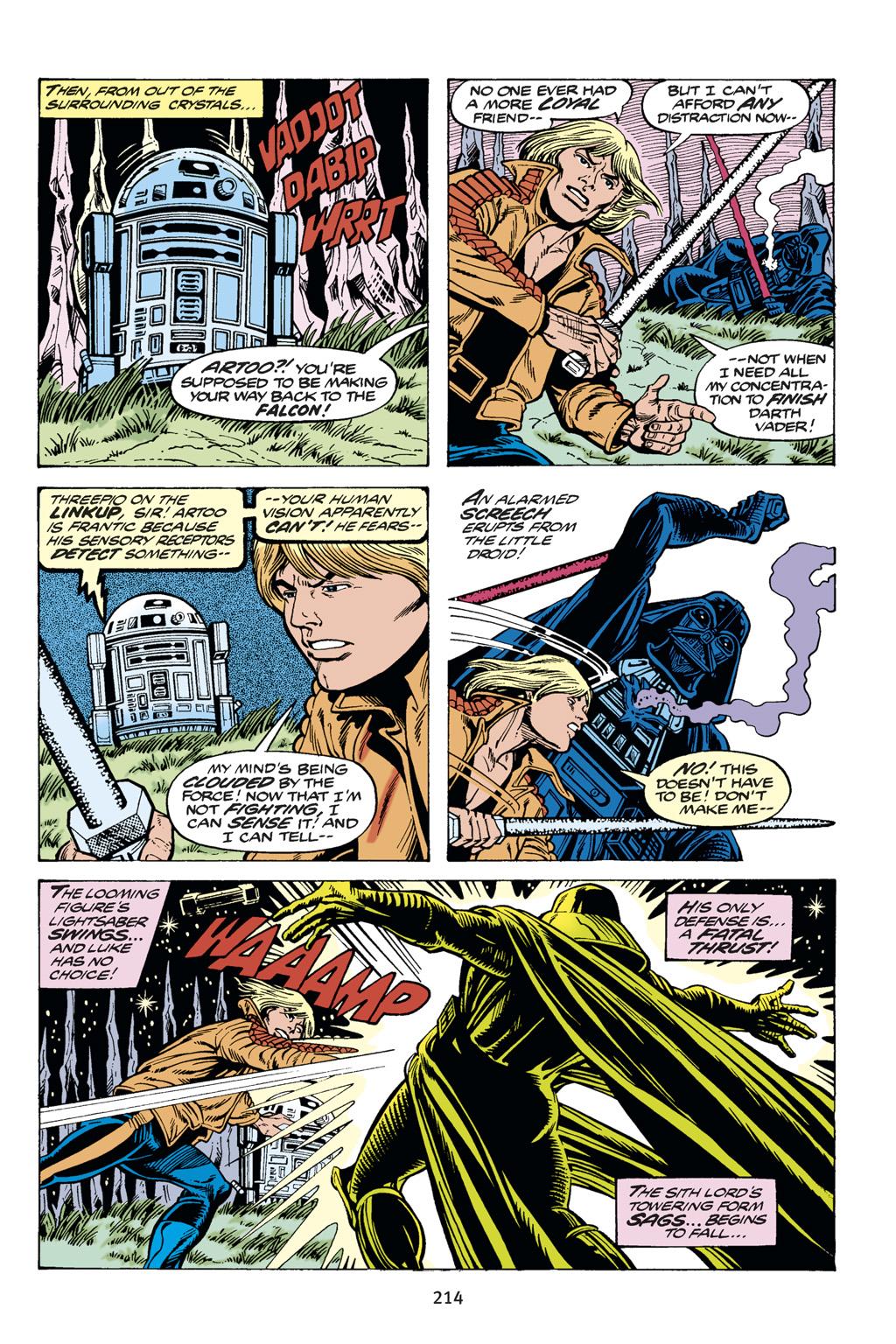 Read online Star Wars Omnibus comic -  Issue # Vol. 14 - 213