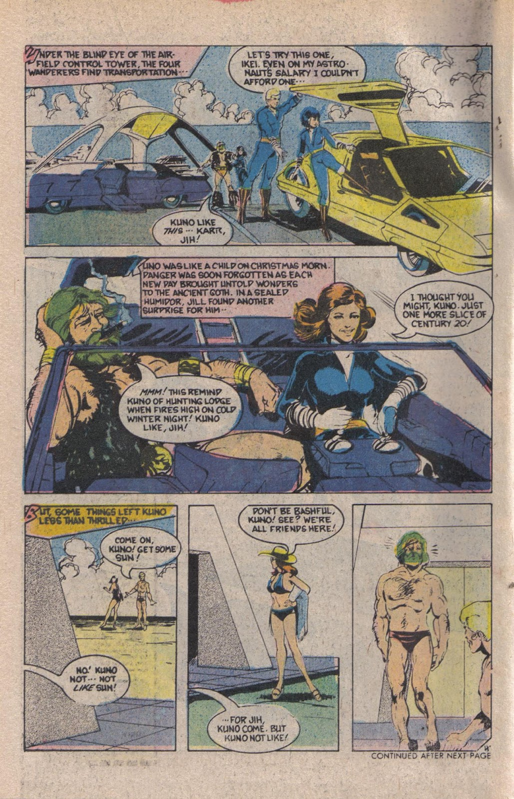 Read online Doomsday   1 (1975) comic -  Issue #12 - 6