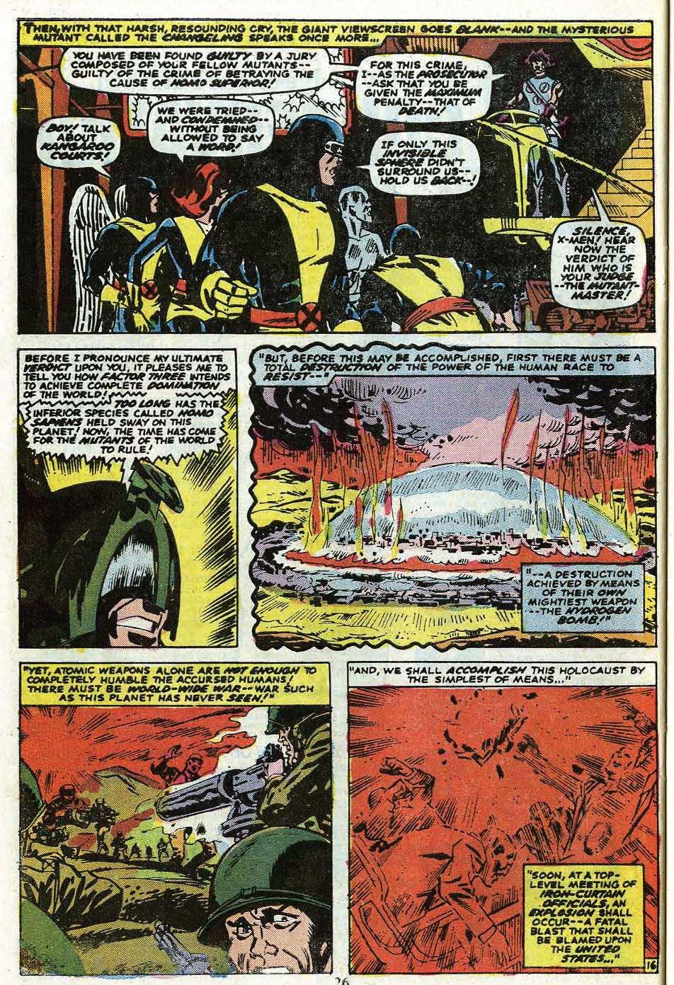 Read online Uncanny X-Men (1963) comic -  Issue #85 - 28