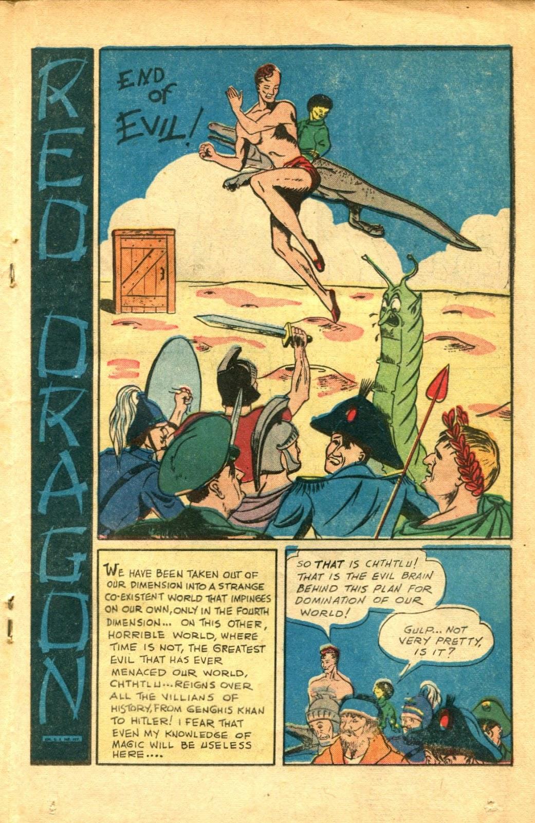 Read online Super-Magician Comics comic -  Issue #48 - 27