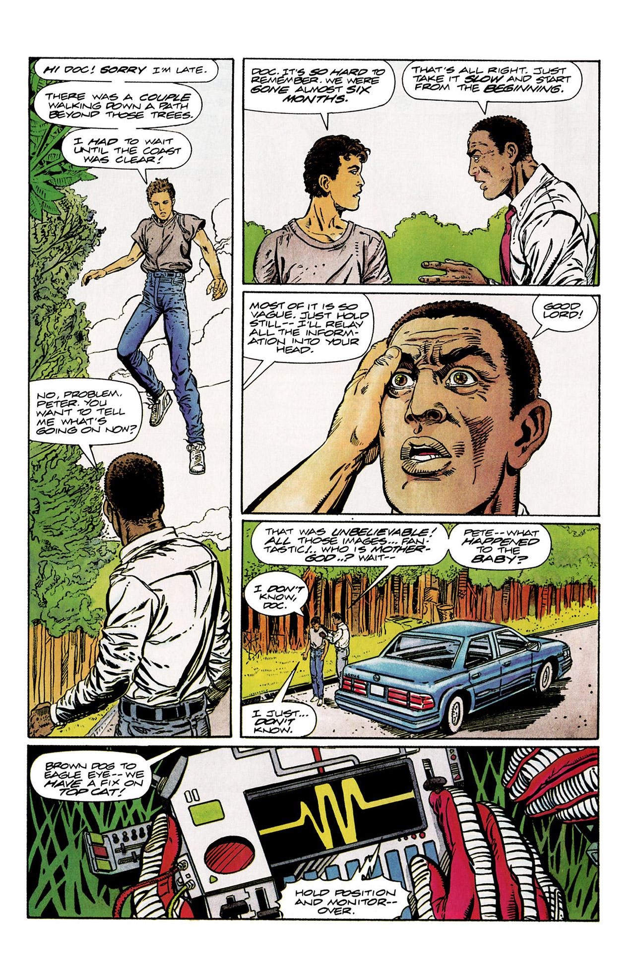 Read online Harbinger (1992) comic -  Issue #10 - 5