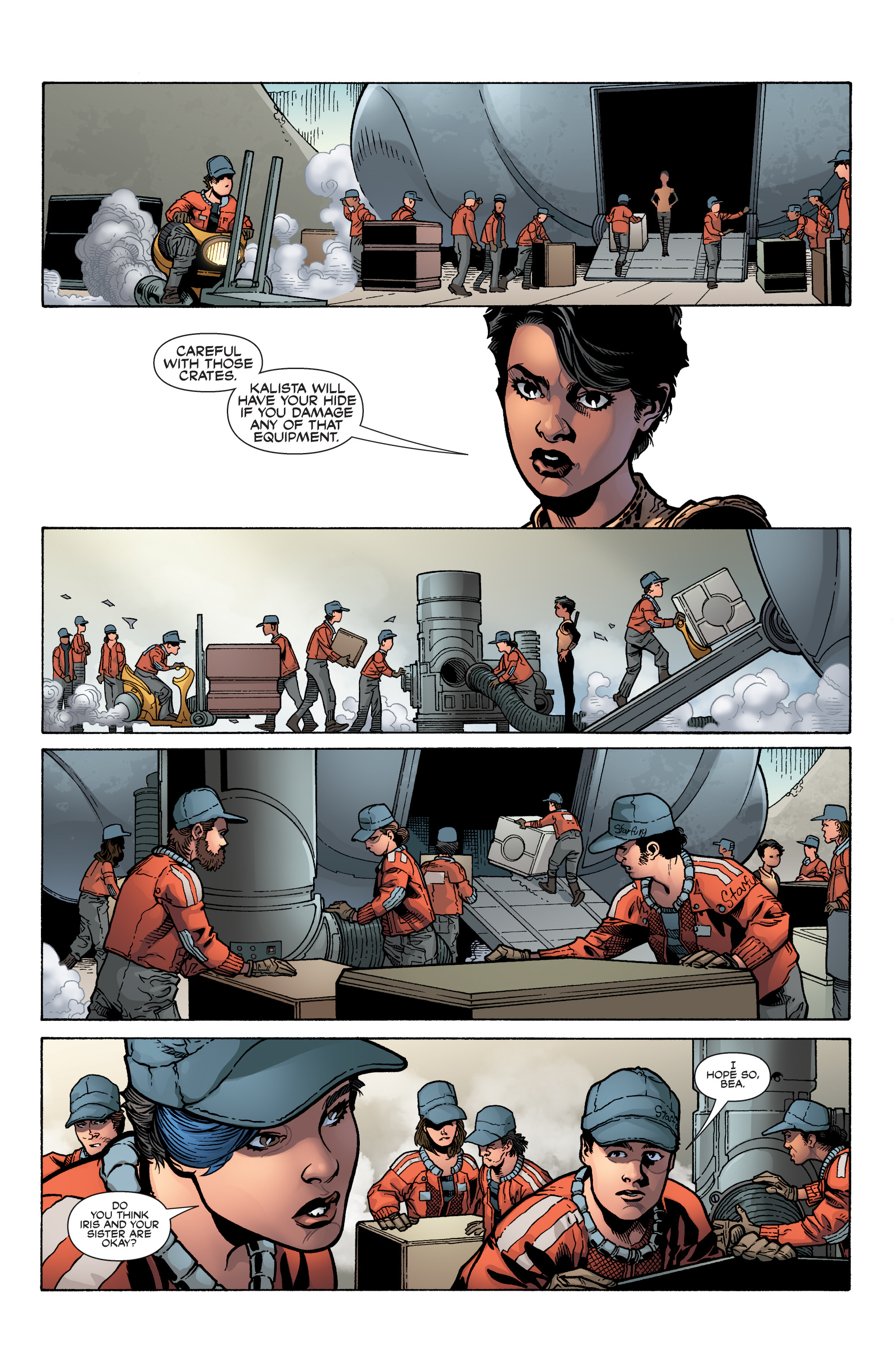 Read online Serenity: Firefly Class 03-K64 – No Power in the 'Verse comic -  Issue #5 - 14