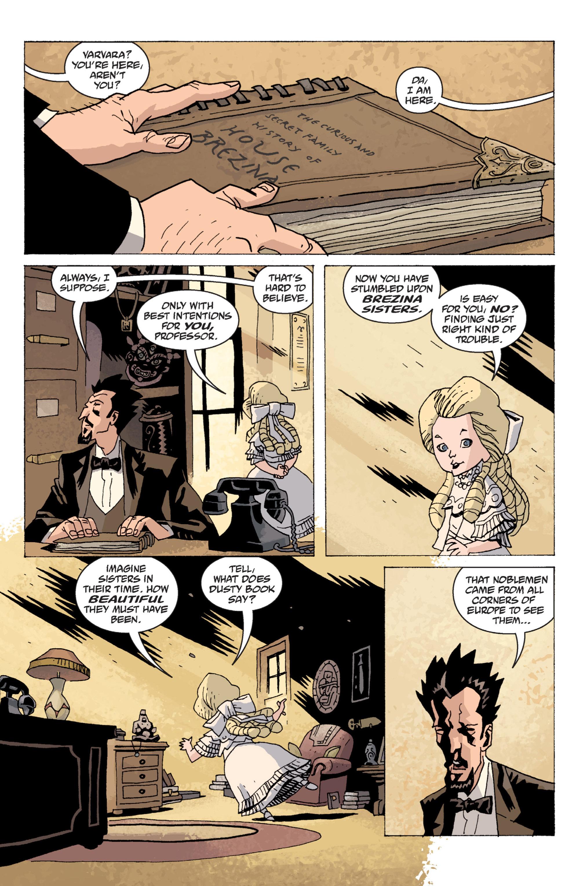 Read online B.P.R.D. (2003) comic -  Issue # TPB 13 - 94