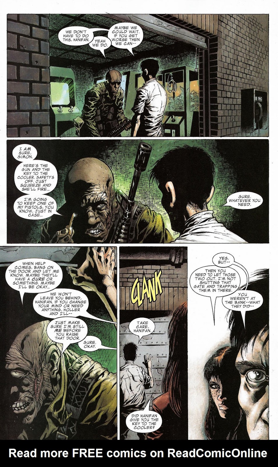 Read online Zombie (2006) comic -  Issue #2 - 14