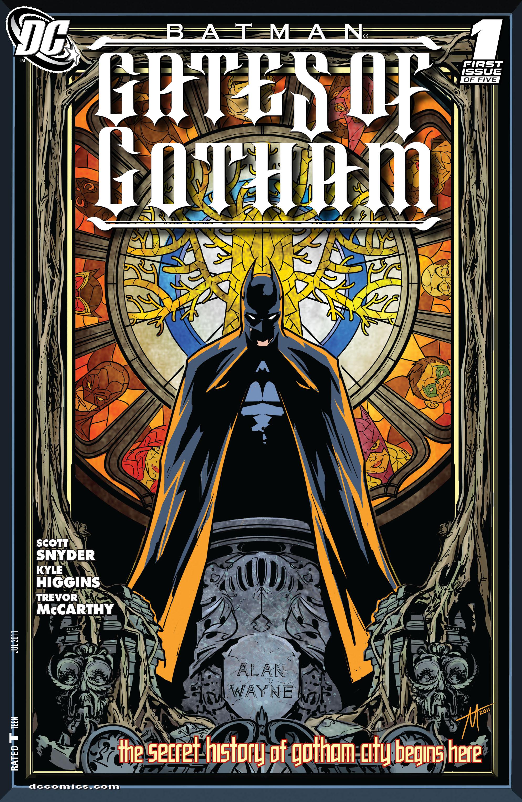 Batman: Gates of Gotham issue 1 - Page 1