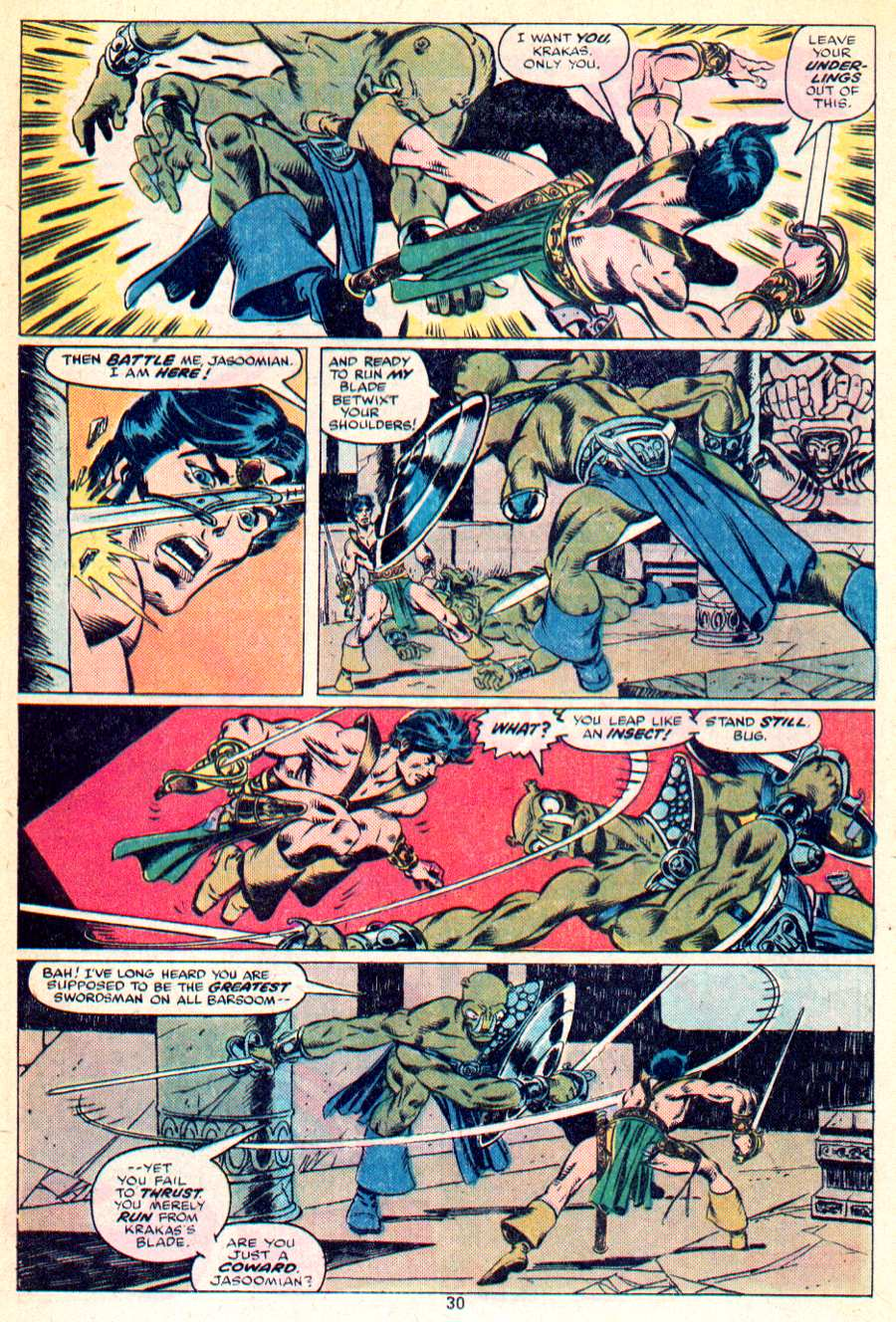 John Carter Warlord of Mars issue 1 - Page 16